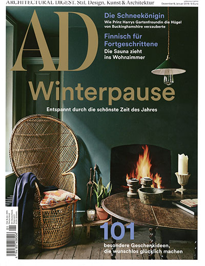Architectural Digest Germany December 2018