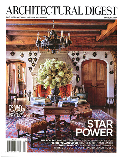 Architectural Digest USA 2017