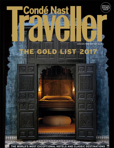 Conde Nast Traveller January 2017