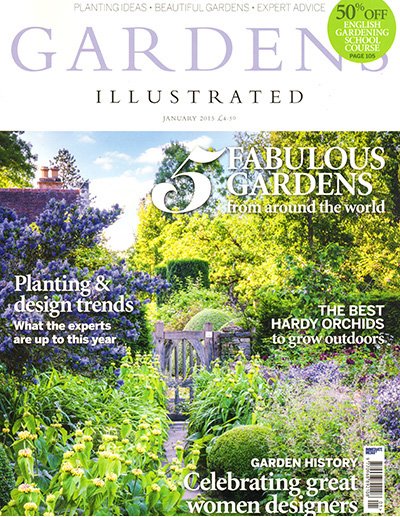 Gardens Illustrated January 2015