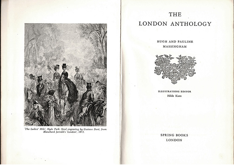 London Anthology Contents