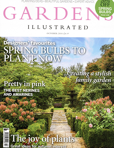 Gardens Illustrated October 2016